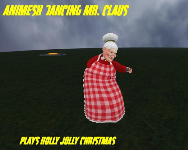 Animesh dancing mrs claus