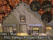 .PSG. Valley's Prospect Mesh Barn