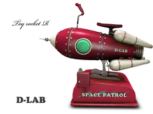 d-lab TOY ROCKET R-ve