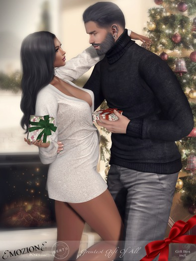 <EMOZIONE> Couple Pose **Greatest Gift Of All**! [BAG]