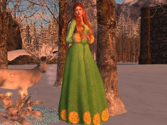 Gown Winter Tyrell Maitreya