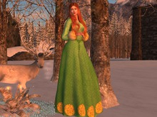 Gown Winter Tyrell (add+touch)