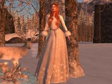 Gown Winter Snow Maitreya
