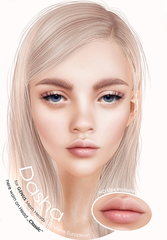"DeeTaleZ *Appliers* GENUS Head ""Dasha"" Mixedtype"