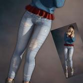 Luka's Denim Skinny Jeans - Maitreya!!