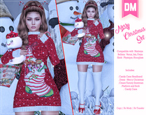 DM:: Marry Christmas Set Maitreya - Belleza - Slink
