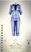 [sYs] LOKO jumpsuit (body mesh) - denim