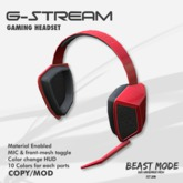 """[BSTMD]GamingHeadset """"G-Stream"""""""