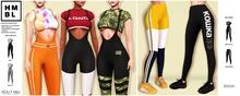 ! HOLLY MILL [BL] - Flexcite Bodysuit - Fatpack [WEAR]