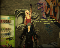 .::Y&R::.Design Rock time couple pose(boxed)