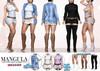 Mangula HUD [Unpack] Paula Set Dresses, Jacket [MEGA PACK]