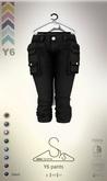 [sYs] Y6 pants (body mesh) - black