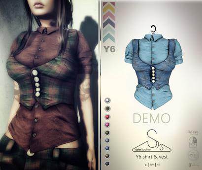 [sYs] Y6 shirt (body mesh) - DEMO