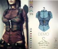 [sYs] Y6 shirt (body mesh) - DEMO