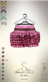 [sYs] Y6 skirt (body mesh) - pink