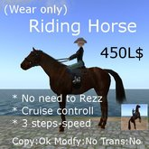 Riding Horse v38 (No need to Rez)