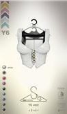 [sYs] Y6 vest (body mesh) - white