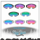 Snow Skiing & Snowboard Goggles (Boxed)