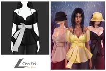 Lowen - Thea Blouse [Black]