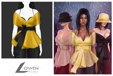 Lowen - Thea Blouse [Yellow]