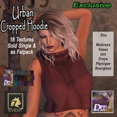 +DFF Urban Cropped Hoodie #18