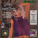 +DFF Urban Cropped Hoodie #17