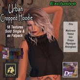 +DFF Urban Cropped Hoodie #16