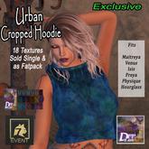 +DFF Urban Cropped Hoodie #14