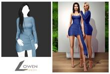 Lowen - Kendall Wrap Dress [Sky]