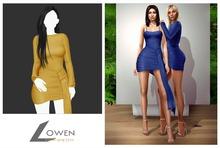 Lowen -  Kendall Wrap Dress [Yellow]