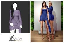 Lowen -  Kendall Wrap Dress [Lliac]