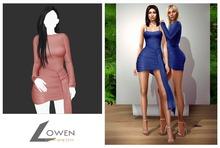 Lowen -  Kendall Wrap Dress [Pink]