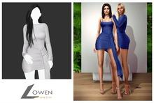 Lowen -  Kendall Wrap Dress [White]