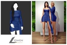 Lowen -  Kendall Wrap Dress [Indigo]