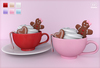 Bowtique - Gingerbread Hot Cocoa Drink (Bento Hold Animations)