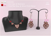 Bowtique - Gingerbread Heart Jewelry Set