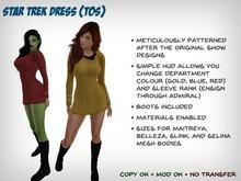 [S2S] Star Trek Dress (TOS) - Maitreya