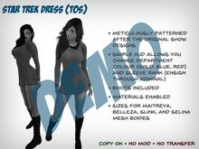 [S2S] Star Trek Dress (TOS) - DEMO