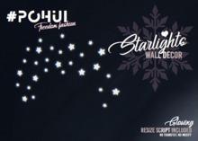 #POHUI - Christmas Starlights Wall Decor  #1