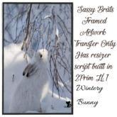 Wintery Bunny