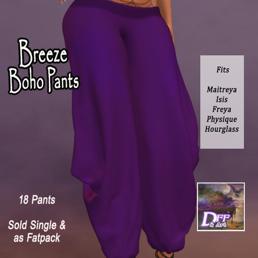DFF Breeze Boho Pants #3