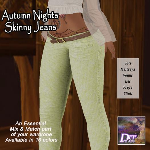 DFF Autumn Nights Skinny Jeans #2