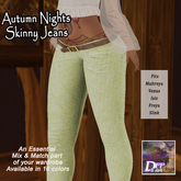 DFF Autumn Nights Skinny Jeans #2