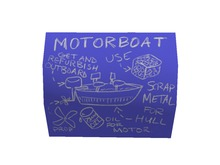 (7S) Uncommon Blueprint: Personal Motorboat