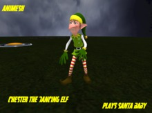 Chester the dancinf elf