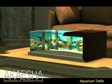 [Akaesha] Fish Tank Aquarium Table ( Fish Aquarium )