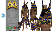 <MK> Anubis Outfit - Signature Gianni - Gods Egypt - Fantasy costume