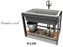 D-LAB Outdoor sink-ve