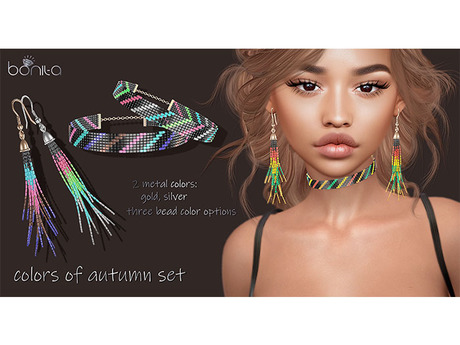 *Bonita* colors of autumn Set