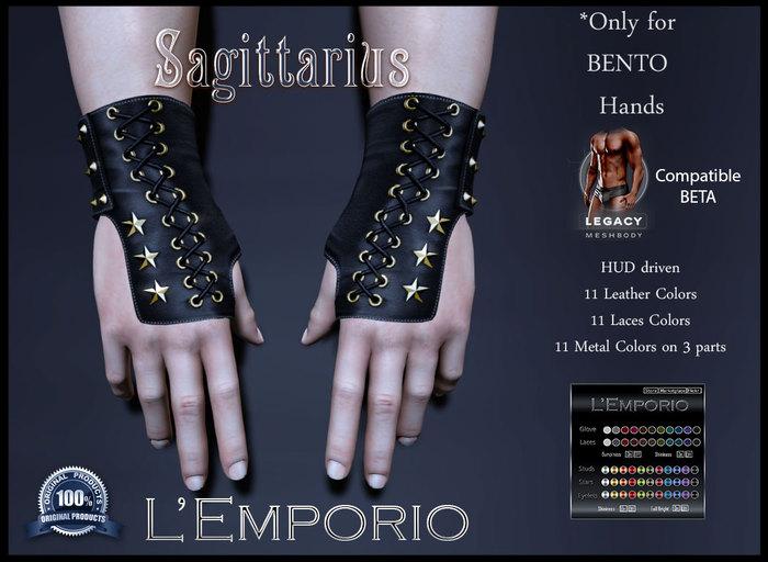 L'Emporio&PL ::*Sagittarius*:: ArcherBENTOGloves-LEGACY m(1.1)